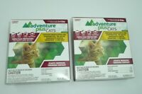 Lot of 2 Boxes - Flea Medicine Adventure Plus for CATS 5-9 LBS 8 Month Supply
