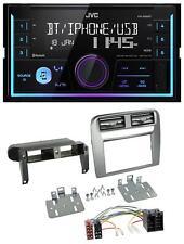 JVC AUX 2DIN USB MP3 Bluetooth Autoradio für Fiat Grande Punto 05-09 anthrazit m