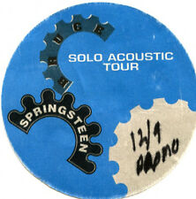 Bruce Springsteen-backstage pass Solo Acoustic Tour 12/9/95 - Tower Theater blue