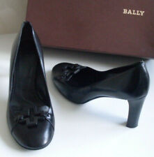 BALLY Switzerland Black Pump Heels Court Shoes Size EU 37.5 UK 4.5 US 7