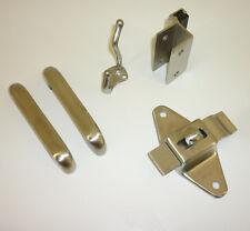 """OUTSWING DOOR HARDWARE PACK FOR 3/4"""" PILASTER & 3/4"""" DOOR CAST STAINLESS STEEL"""