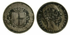 pcc1849_2) Regno Umberto I (1878-1900) Scudo lire 5 1879 - patina