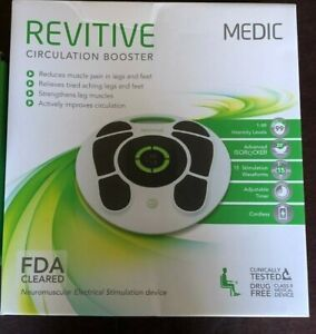 REVITIVE MEDIC CIRCULATION BOOSTER NEW FDA APPROVED SHIPS FREE IN USA