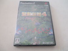 >> SEIKEN DENSETSU 4 IV PLAYSTATION 2 PS2 JAPAN IMPORT NEW FACTORY SEALED! <<