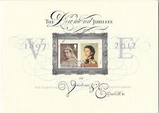 (74280) GB Queen Diamond Jubilee Royal Mail Folder 2012