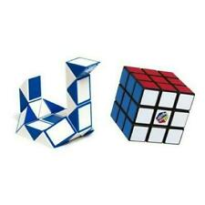 Rubiks Cube Duo Pack Classic 3x3 and Twist cubes Brain Teaser Puzzle-Used