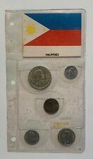 1967 Philippines 5 coins set - original holder