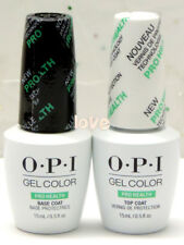 OPI GelColor Brand New Polish Soak Off UV/LED ProHealth Base Coat & Top Coat Gel