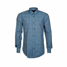 HUGO BOSS Slim Long Sleeve Check Men's Casual Shirts & Tops