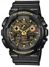 Casio G-Shock Herren Uhr GA-100CF-1A9ER Face-Camouflage Watch