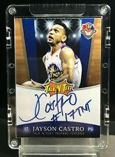 PBA Legends Guaranteed Authentic AutosJayson Castro (Encased #421726113178)