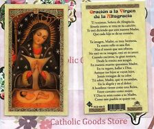 Oracion a La Virgen de la Altagracia - Spanish - Laminated Holy Card