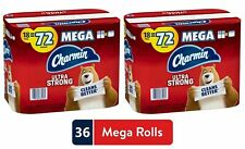Charmin Ultra Strong Toilet Paper, Total 2 Pack 36 / 144 Mega Rolls