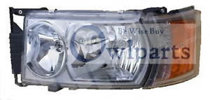 SCANIA P,G,R,T SERIES HEADLIGHT LH WITH LED OUTLINE MARKER 2003>