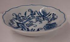 Blue Danube BLUE ONION Coupe Fruit Bowl BLOCK BACK STAMP Multiple Availabl