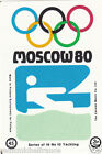 Sailing Yachting Voile SPORT MOSCOU Moscow Olympic GAMES MATCHBOX LABEL 1980