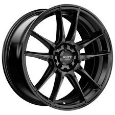 4-NEW Ruff R364 15x7 4x100/4x114.3 +40mm Satin Black Wheels Rims