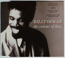 BILLY OCEAN - The colour of love 4TR 3-inch CD 1988 SOUL
