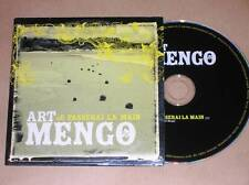 CD PROMO 1 TITRE / ART MENGO / JE PASSERAI LA MAIN / TRES BON ETAT