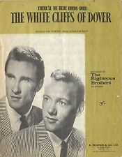 THE RIGHTEOUS BROTHERS - 50s Sheet music - THE WHITE CLIFFS OF DOVER