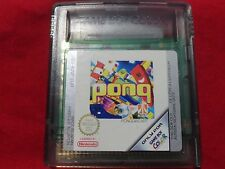 PONG NINTENDO GAME BOY COLOR GBC GBA