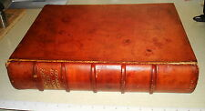 1910 CORNBURY AND THE FOREST OF WYCHWOOD Vernon Watney Leather HB NR