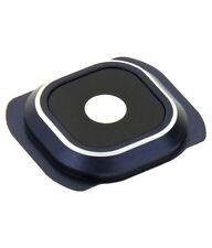 Lente de Cámara para Samsung Galaxy S6 Edge Negro Azul Lente Cámara Lente Nuevo