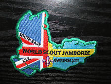 Rare Badge: 22nd World Scout Jamboree 2011 (Sweden) - UK Southeast IST