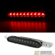 Black Fits 1994-1998 Ford Mustang LED Third 3rd Tail Brake Light Rear Stop Lamp
