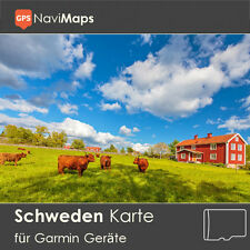 Topo Karte Schweden Garmin Edge GPSMap Etrex Nüvi Astro Oregon Dakota Montana
