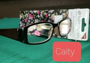 Strong +3.50 Sight Station Caity Foster Grant Reading Glasses + Cases Spg hng