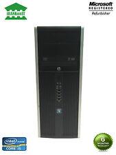 HP Compaq 8200 Elite Core i5 3.1GHz 8GB RAM 2x500GB HDD WIN10 PRO