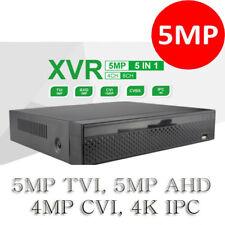 4CH XVR Series CCTV 5 In 1 Hybrid HD Analog DVR System Supports 5MP TVI, 4K IPC