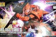 MS-06S ZAKU II Zeon Char Aznable Mobile Suit - Bandai Kit 1:144 37640 Gundam UC