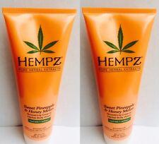 2 Hempz Sweet Pineapple Honey Melon Moisturizing Body Wash 8.5 oz