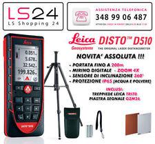 Leica DISTO D510 Nuovo Modello + TRI 70 - Compatibile con Apple Iphone & Ipad