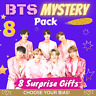 BTS Bias / ARMY Mystery Pack Containing 8 Surprise Gifts!