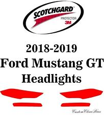 3M Scotchgard Paint Protection Film Clear Pre-Cut 2018 2019 Ford Mustang