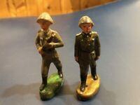 Massefiguren, DDR, Soldaten, Elastolin