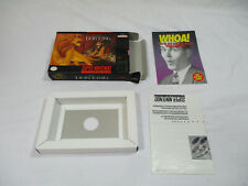 THE LION KING Super Nintendo SNES Authentic Box & Inserts NO GAME CART!
