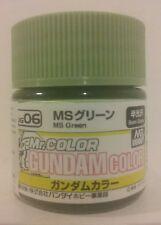Gunze Sangyo /Mr Color Gundam color MS Green MS06.