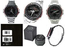 Casio G-Shock G-Steel GSTS100D-1A4 Tough Solar Double LED Men's Watch