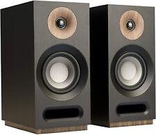 (2) Jamo Studio series S 803 Black Bookshelf Speakers Pair Brand **NEW, NO Box*
