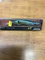 MEGABASS ITO VISION ONE TEN 110 PLUS 1 DEEP DIVER---GG THREADFIN SHAD