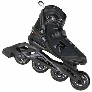 Roces Icon Inline-Skates Inliner Fitness-Liner Skating Schwarz NEU 2021