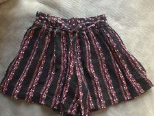 Zara Girls Skort Floral - Size 8
