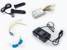 500W 24V Reverse controller+keylock+Charger+Throttle w switch f Brushed DC motor
