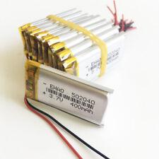 10 x 3.7V 400mAh Lipo Polymer Battery cell 502040 For Mp3 Pda Dvd Gps bluetooth