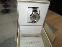 Versace Schweizer Uhr V-Chircle schwarz