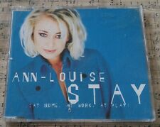 Ann Louise - Stay (At Home, At Work, At Play) CD Single 1997 Pre-Owned Excellent
